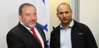 Både Avigdor Lieberman og Naftali Bennett forhandler om å bli utenriksminister i den neste regjeringen. (Foto: The Israel Project og Latvias ambassade / Flickr.com)