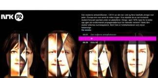 Programmet Ekko på NRK P2 tok opp den økende utbredelsen av antisemittisme. (Foto: Skjermdump fra Nrk.no)
