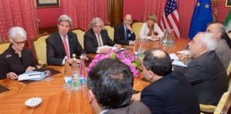 Iran og P5+1-landene i frhandlinger i Lausanne, Sveits. (Foto: Det amerikanske utenriksdepartementet / Flickr.com)