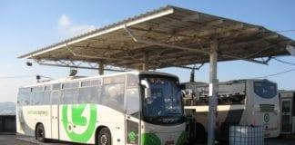 Busstasjonen i Ariel på Vestbredden. (Illustrasjonsfoto: Wikimedia Commons)