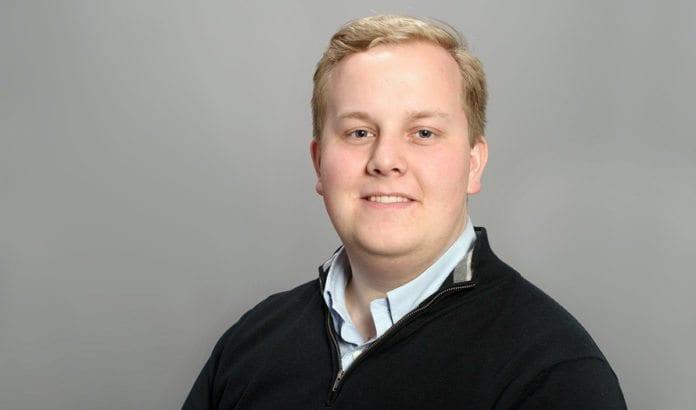 Eirik Faret Sakariassen (24). (Foto: Hans Edward Hammonds, pressebilde fra Stavanger SVs nettside)