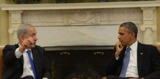 Benjamin Netanyahu og Barack Obama under et møte i 2013. (Illustrasjonsfoto: GPO)