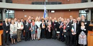 Delegater fra 15 europeiske land deltok ved stiftelsesmøtet i den tyske riksdagen. (Foto: EAI)