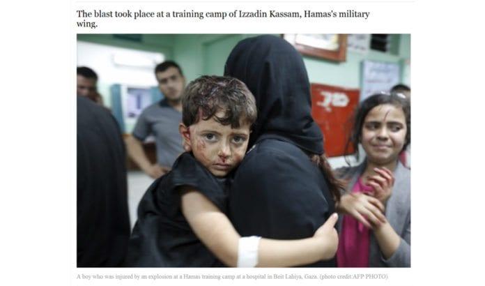 Skjermdump fra Jerusalem Post.