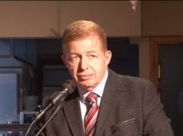 Israels ambassadør Raphael Schutz. (Foto: Olav Mo Grimdalen)
