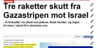 Skjermdump fra NTBs artikkel slik den er publisert i Dagbladet 4. juni 2015.