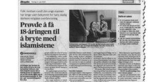 Faksmile av Aftenposten 11. juni 2015.
