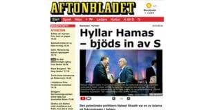 Skjermdump fra Aftonbladet.