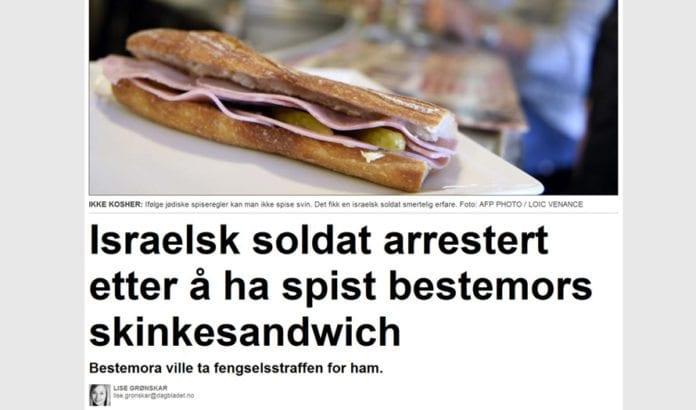 Skjermdump fra Dagbladet.