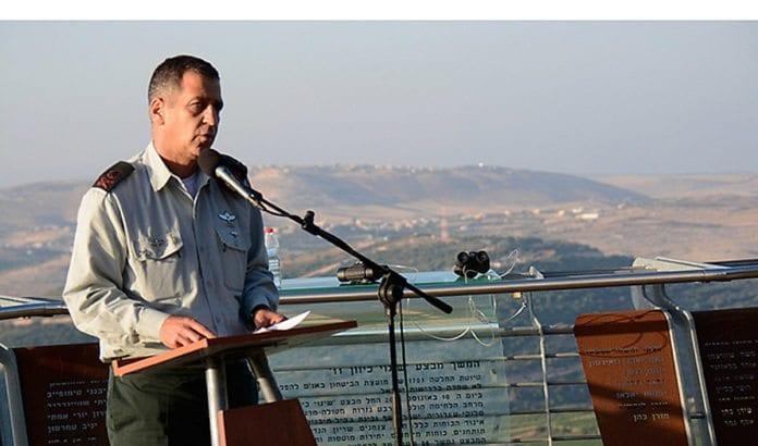 General Aviv Kochavi, som leder IDFs nordkommando, advarer om at roen brått kan ta slutt. (Foto: IDF)