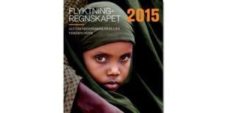 Forsiden til Flyktningregnskapet 2015. (Skjermdump)