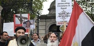 Koptiske kristne i Irland demonstrerer til støtte for sine kristne brødre i Egypt. (Illustrasjonsfoto: Tomasz Szustek, flickr)