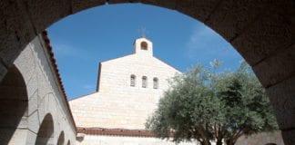 Kirken for fisk- og brødunderet ble antent av vandaler. (Foto: Benjamin, flickr)