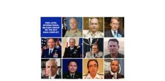 Militære eksperter som har gransket Israels krigføring under Gaza-krigen i 2014. (Foto: UN Watch)