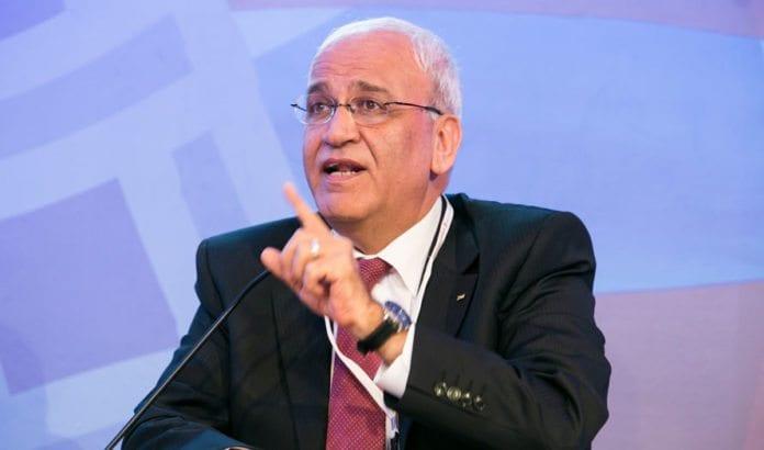 Palestinernes sjefsforhandler Saeb Erekat. (Foto: US Islamic World Forum)