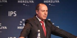 Silvan Shalom talte på Herzliya-konferansen mandag 8. juni. (Foto: Herzliya-conference.org)
