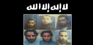 De seks arresterte (Foto: Shin Bet/Jerusalem Post)