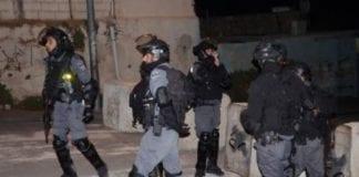 Palestinsk politi (Foto: Ynetnews/Mohammed Shinawi)