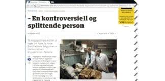 Skjermdump fra moss-avis.no 14. august 2015.