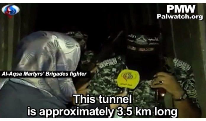 Skjermdump fra Wattan, via Palestinian Media Watch.