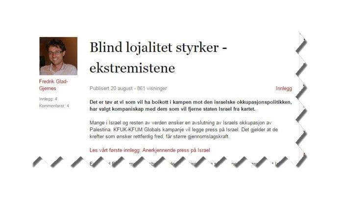 Skjermdump fra Vårt Lands Verdidebatt.no.