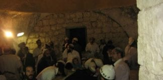 Josefs grav i Nablus. (Illustrasjonsfoto: www.keveryosef.co.il, via jpost.com)