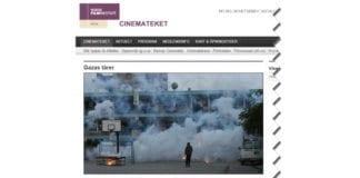 Skjermdump fra nettsiden til Cinemateket.