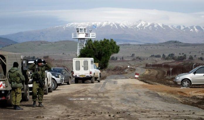 Israel frykter at iranske styrker rykker inn i grenseområdet på Golan. (Illustrasjonsfoto: IDF)