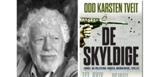 Odd Karsten Tveit og hans nye bok De skyldige. (Foto: Kagge forlag)