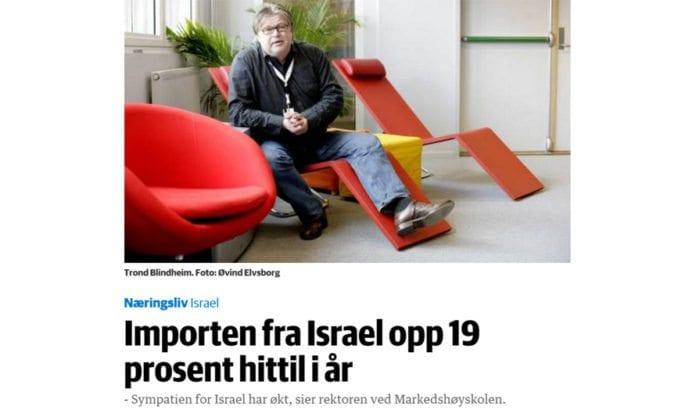 Skjermdump fra Dagens Næringsliv 29. oktober.