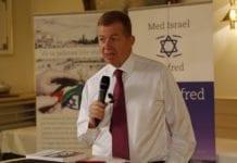 Israels ambassadør Raphael Schutz. (Foto: Tor-Bjørn Nordgaard)