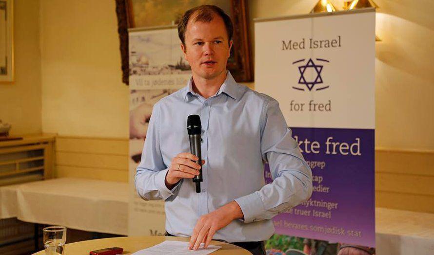 Conrad Myrland i Drammen: Det falske bildet av Israel og hovedhindringen for fred