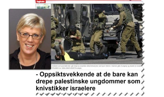 Skjermdump fra Dagbladet og innfelt professor Hilde Henriksen Waage. (Foto: UIO)