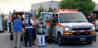 Her ble en israelsk kvinne knivstukket onsdag 28. oktober av en palestinsk terrorist. (Foto: Magen David Adom)