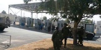 Kontrollposten ved Jenin der det ble begått terrorangrep både denne og forrige lørdag. (Foto: Det israelske forsvarsdepartementet)