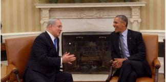 Benjamin Netanyahu og Barack Obama i Det hvite hus 9. november 2015. (Foto: GPO)