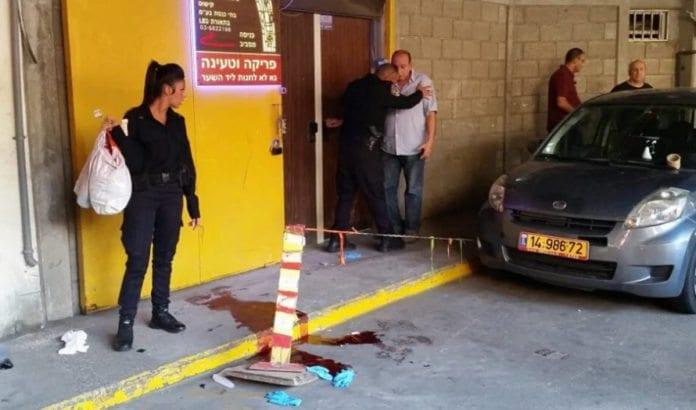 To israelere ble drept og én skadet i knivterrorangrepet i Tel Aviv 19. november 2015. (Foto: Twitter-kontoen IsraelHatzolah)