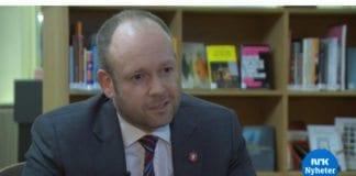 Stortingsrepresentant Jørund Rytman (Frp). (Skjermdump fra NRK Kveldsnytt 24. november 2015)