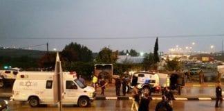 Åstedet for knivangrepet torsdag ettermiddag i Gush Etzion. (Foto: Gush Etzion kommune)