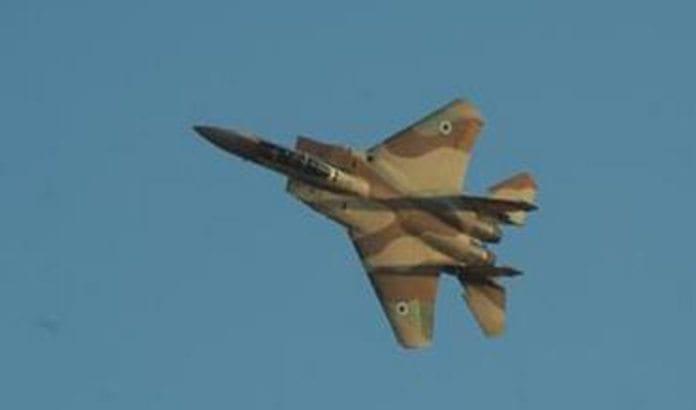 Israelske fly skal ha angrepet mål i Syria onsdag kveld ifølge syriske medier. (Illustrasjonsfoto: IDF)
