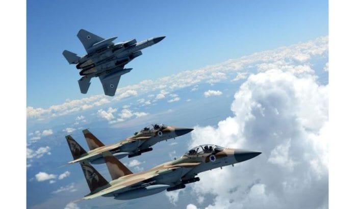 Israelske jagerfly. (Illustrasjonsfoto: IDF)