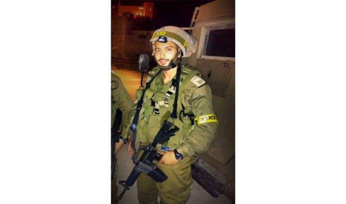 Den israelske militærlegen løytnant Moshe Cohen. (Foto: IDF)