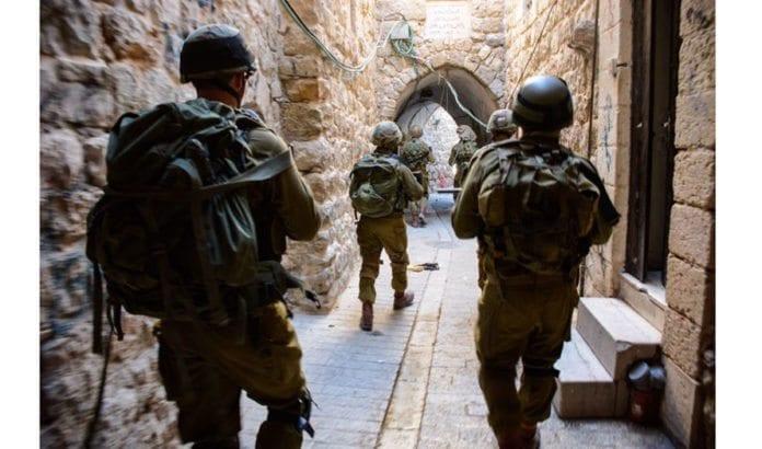 Israelske soldater i Hebron. (Illustrasjonsfoto: IDF / Flickr.com)