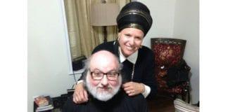 Jonathan Pollard sammen med sin kone Esther. (Foto: Twitter-kontoen Chico menashe)