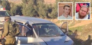 Yaakov og Netanel Litman ble drept i skyteangrep mot bilen deres fredag 13. november. (Foto: MDA og privat, via Ha'aretz)