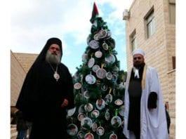 Du grønne, islamistiske juletre? (Foto: Gal Berger, Twitter)