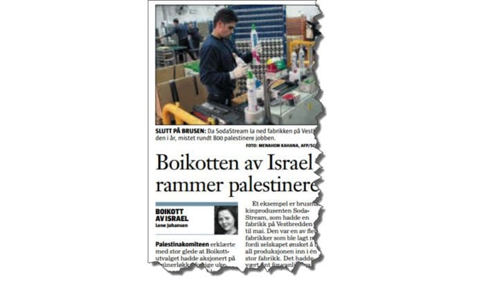 Faksmile fra Klassekampen 22. desember 2015.