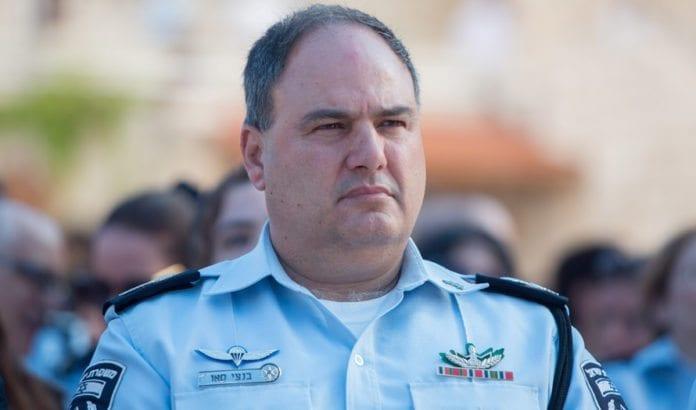 Politidirektør Bentzi Sau. (Foto: Flash90)