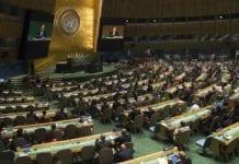 Fra åpningen av FNs generalforsamling 2015. (Illustrasjonsfoto: FN)