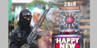 Hamas forbyr nyttårsfeiring (Foto: Jerusalem Post/Reuters)